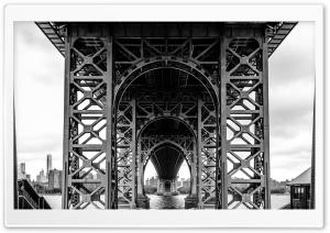 Williamsburg Bridge Black and...