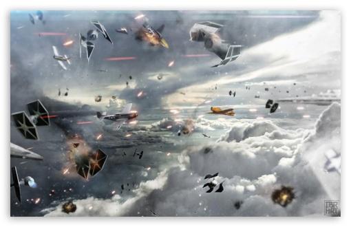 Download Sky Wars UltraHD Wallpaper