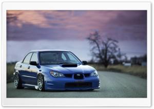 Subaru Impreza WRX Blue