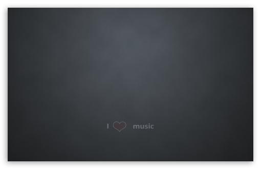 Download Love Music UltraHD Wallpaper