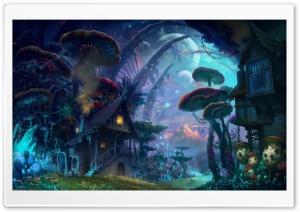 Tiny World Fantasy Art