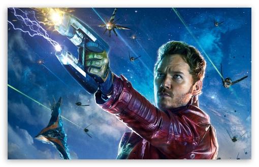 Download Guardians Of The Galaxy Star Lord UltraHD Wallpaper