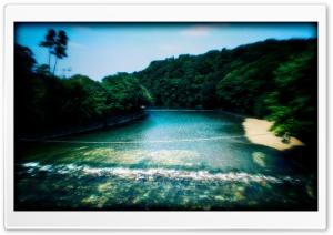 Holy River At Ise Jingu
