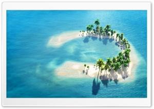 The Maldives Little Island