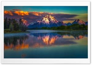 Mountains, Nature, Lake