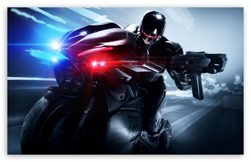 Download Robocop Remake UltraHD Wallpaper