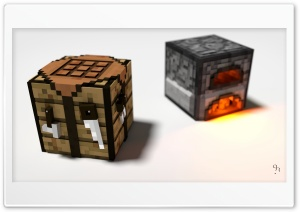 Crafting Table and Furnace