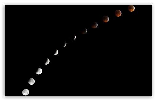 Download Moon Phases UltraHD Wallpaper
