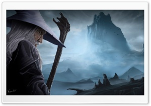 Gandalf and the Lonely Mountain