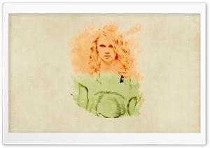 Taylor Swift Vintage Background