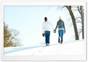 A Romantic Walk Through The Snow