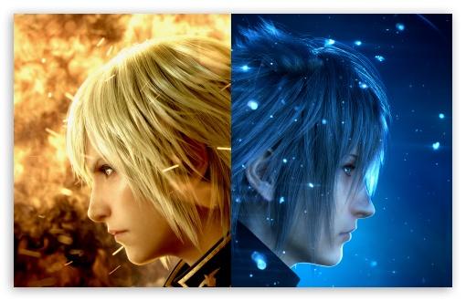 Download Final Fantasy XV Characters Video Game UltraHD Wallpaper