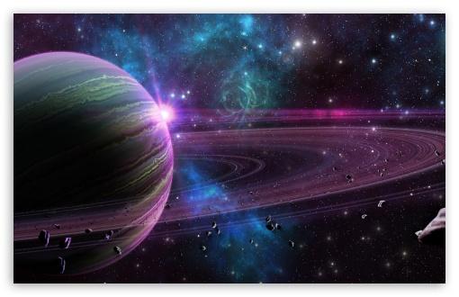 Download Purple Planet UltraHD Wallpaper