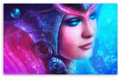 Download Nami the Tidecaller - League of Legends UltraHD Wallpaper