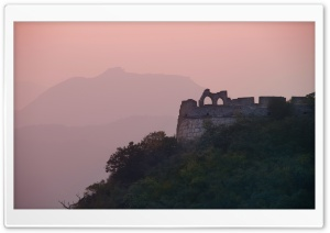 Great Wall In The Evening Light