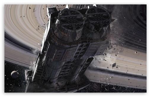 Download Destiny, Cassini Derelict UltraHD Wallpaper