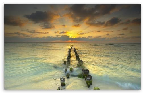 Download Endless View to Sea UltraHD Wallpaper