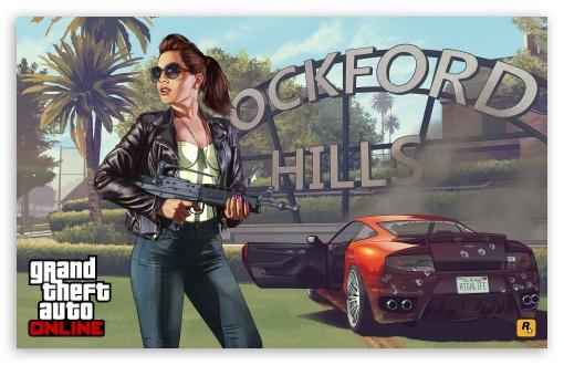 Download Grand Theft Auto V High Life UltraHD Wallpaper