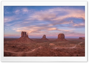 West and East Mittens Buttes,...