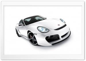 White Porsche Car 1
