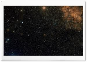 Stars Field and Nebula