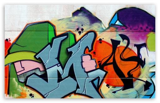 Download Graffiti Spain UltraHD Wallpaper