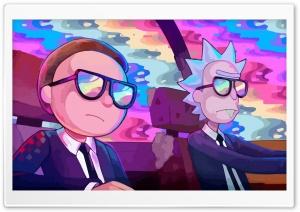 Rick and Morty Car Rainbow