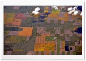 Aerial View - Near Coutts,...