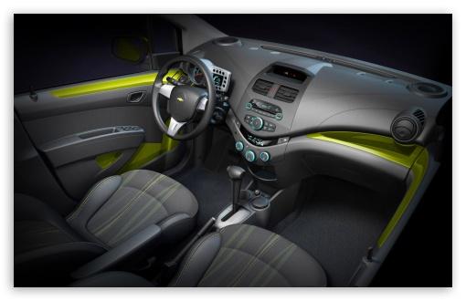 Download 2010 Chevrolet Spark   Interior UltraHD Wallpaper