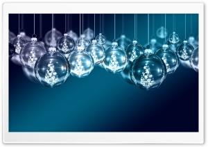 Blue Christmas Ornaments...