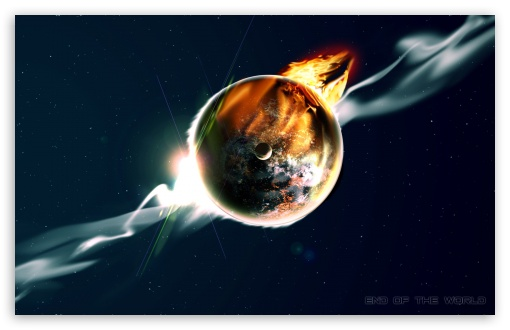 Download End of the World UltraHD Wallpaper