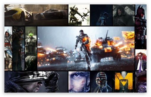 Download Best Games 2013 UltraHD Wallpaper