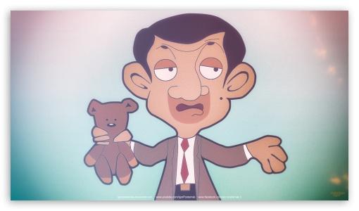 Download Mr Bean UltraHD Wallpaper
