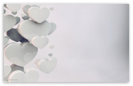 Download Wedding Hearts UltraHD Wallpaper
