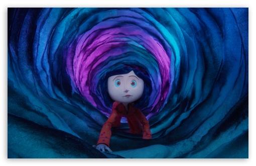 Download Coraline Cartoon UltraHD Wallpaper