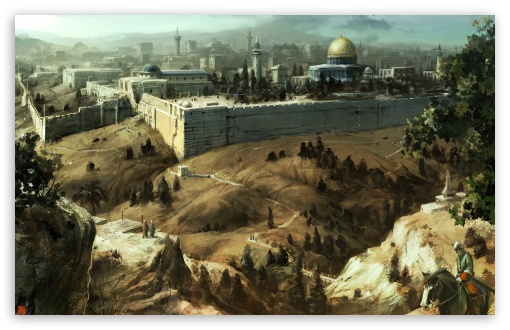 Download Assassins Creed Jerusalem UltraHD Wallpaper