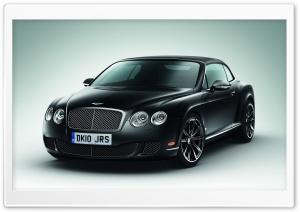 Bentley Continental GTC Black