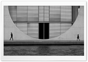 Berlin Architecture Black And...