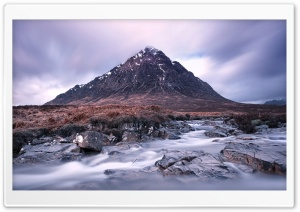 The Buachaille mountain,...