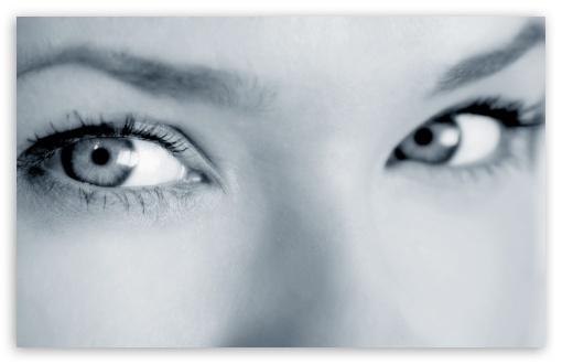 Download Girl Eyes UltraHD Wallpaper