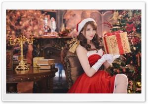 Christmas Santa Girl Dress