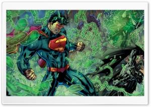 Superman, Batman, Green...