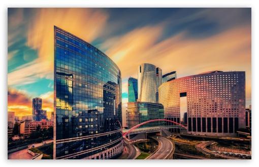 Download Paris Architecture UltraHD Wallpaper