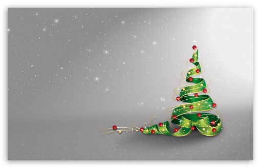 Download Christmas Tree, New Year 2017 Background UltraHD Wallpaper