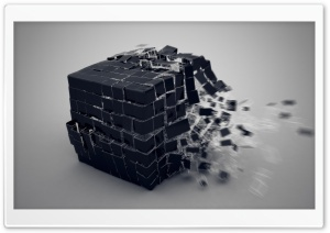 Exploding Cube