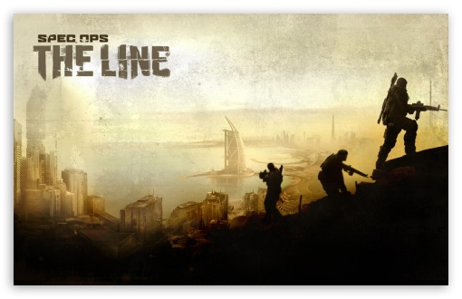 Download Spec Ops The Line Game UltraHD Wallpaper