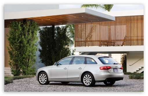 Download Audi A4 2.0 TFSI Quattro Avant Us... UltraHD Wallpaper