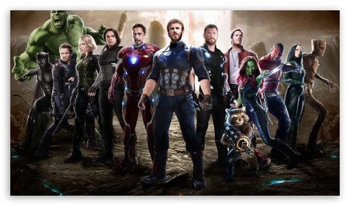 Download Avengers Infinity War 2018 Movie Fan Art UltraHD Wallpaper