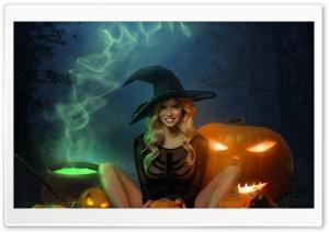 Beautiful Witch Halloween