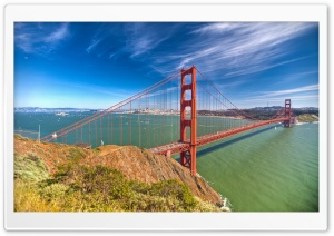 Golden Gate By Day